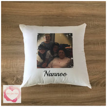 Load image into Gallery viewer, Personalised photo cushion