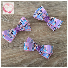 Load image into Gallery viewer, Bluey bow hair clips