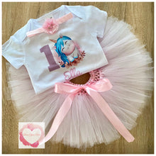 Load image into Gallery viewer, Unicorn printed tutu set