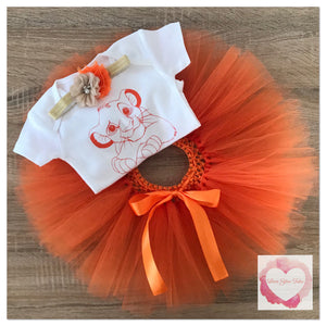 Lion king Simba tutu set