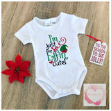 Embroidered Christmas elfin design