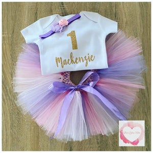 Personalised tutu set