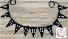 Load image into Gallery viewer, Embroidered Personalised flag bunting