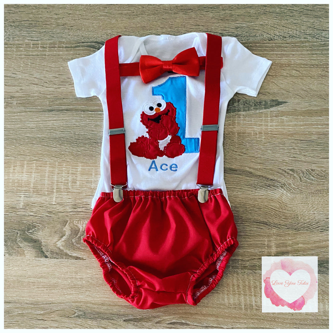 Elmo 3 piece set