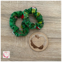 Load image into Gallery viewer, The Grinch Christmas scrunchies