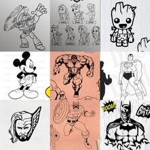 Load image into Gallery viewer, Colour it tee's