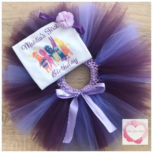 Backyardigans personalised tutu set