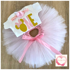 Minnie Mouse one tutu set