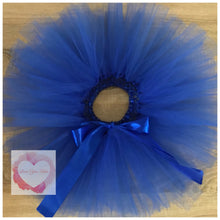 Load image into Gallery viewer, Royal blue short Tutu skirt