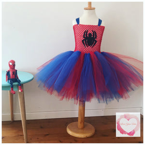 Spider-Man inspired Tutu dress