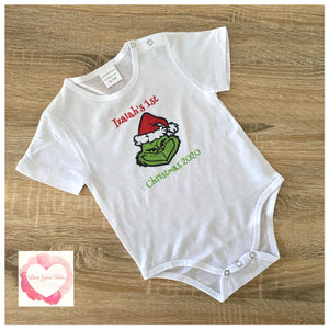 The Grinch printed design
