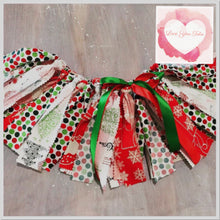 Load image into Gallery viewer, Christmas Shabby Tutu