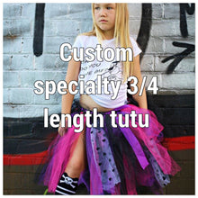 Load image into Gallery viewer, *Custom specialty 3/4 length Tutu skirt