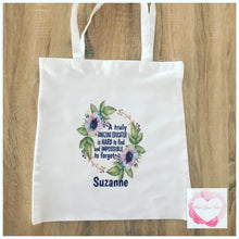 Load image into Gallery viewer, Personalised tote bags-various designs