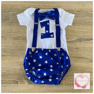 Boys 3 piece star set