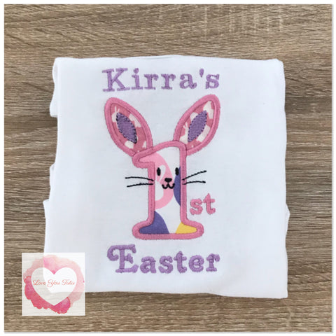 Embroidered 1st Easter design