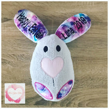 Load image into Gallery viewer, Personalised bunny stuffie