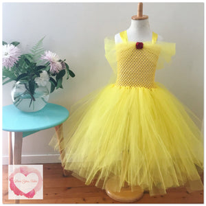 Belle full length tutu dress