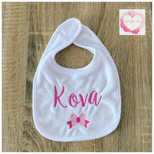 Load image into Gallery viewer, Personalised baby bib
