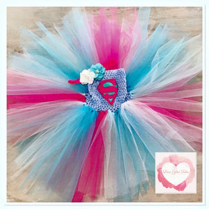Super girl Tutu dress