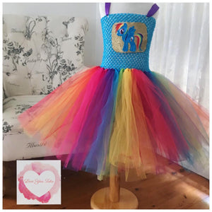My little pony Rainbow dash Tutu dress