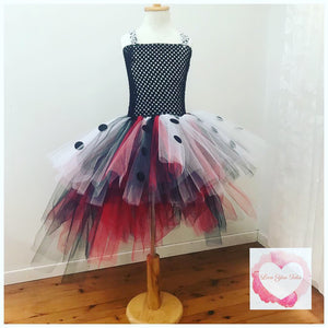 Cruella high low tutu dress