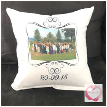 Load image into Gallery viewer, *Custom personalised cushion