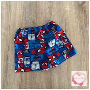 Spider-Man shorts size 4- ready to ship