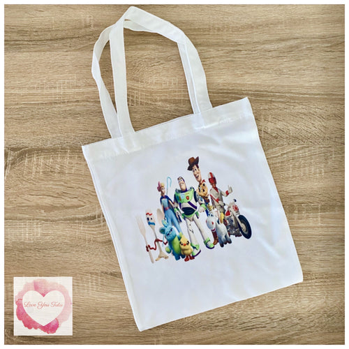 Toy story library/tote bag