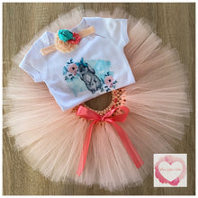 Load image into Gallery viewer, Boho bunny tutu set