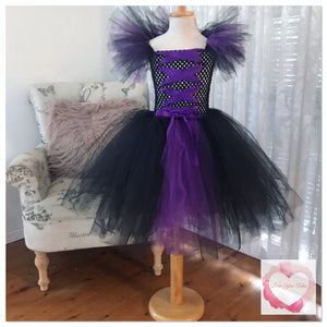 Maleficent tutu dress