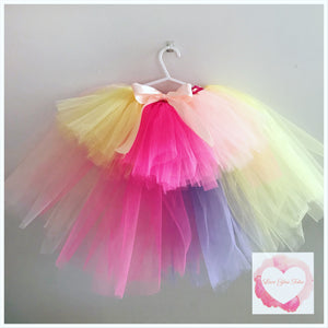 Unicorn high low Tutu skirt