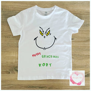 Personalised Grinch design