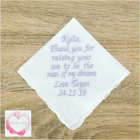 Embroidered handkerchief