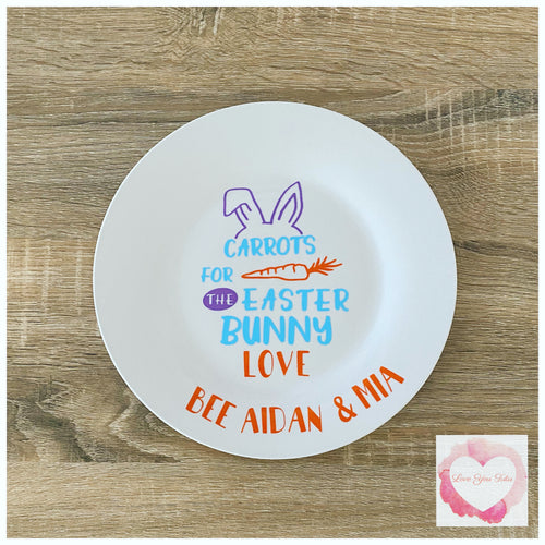 Personalised Easter plate