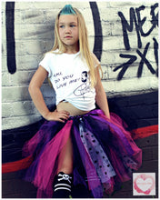 Load image into Gallery viewer, Edgy love 3/4 length Tutu skirt