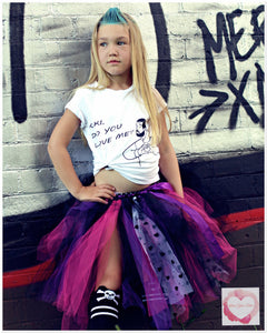 Edgy love 3/4 length Tutu skirt