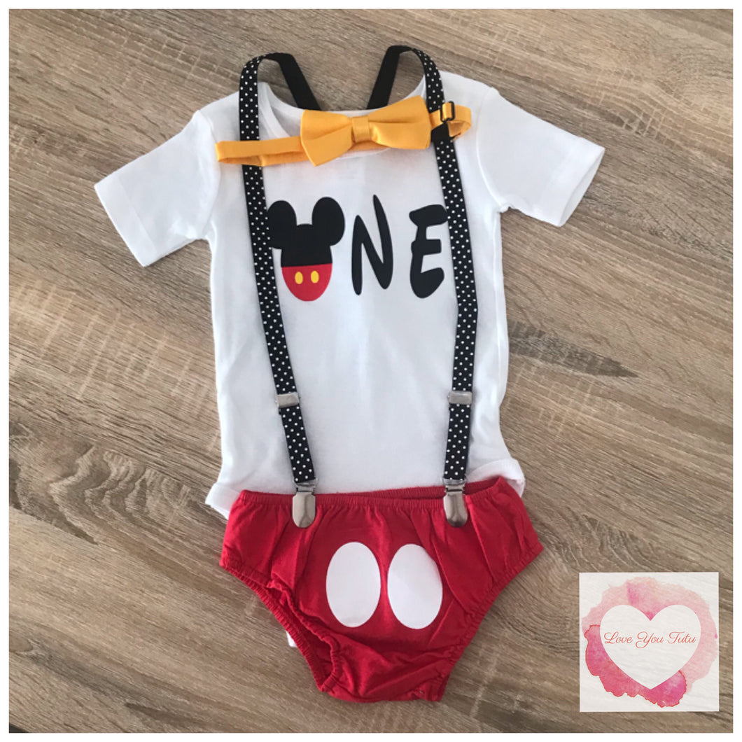 Mickey Mouse 3 piece set