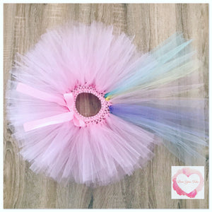 Unicorn short train tutu skirt