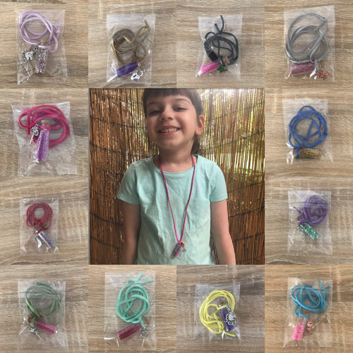 Fairy dust necklaces