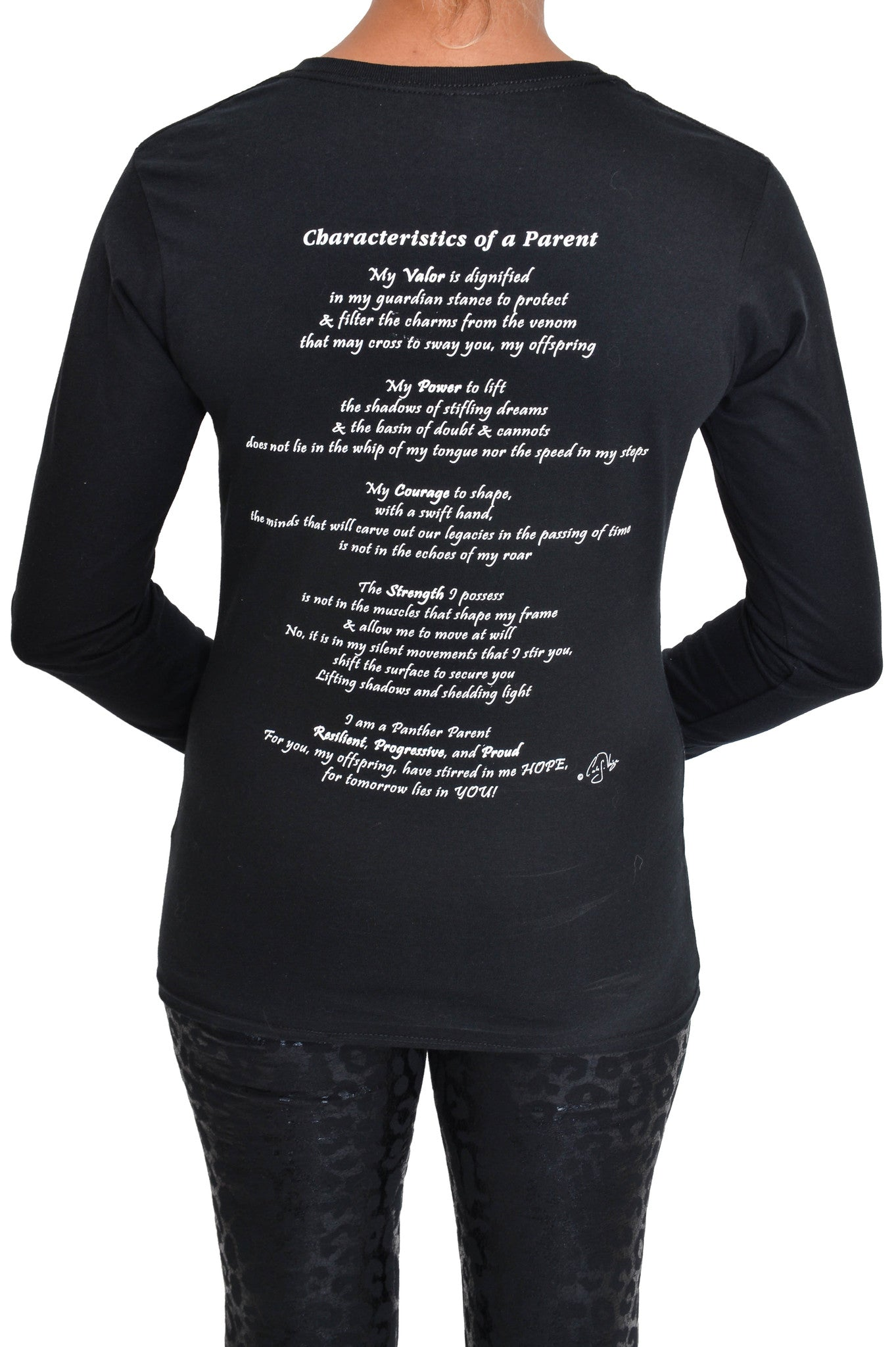 Long Sleeve Female Shirt: Characteristics of a Parent