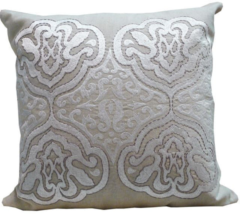 Kussani Cushion Cover Off White Manor 45cm x 45cm K374