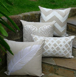 Kussani Cushion Cover Natural Feather 45cm x 45cm K372
