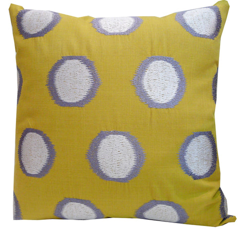Kussani Cushion Cover Mustard Splash 45cm x 45cm K431