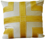 Kussani Cushion Cover Mustard Grid 50cm x 50cm K450