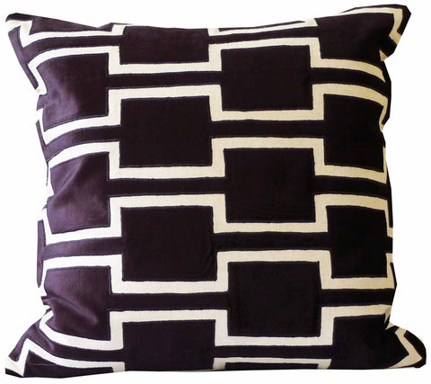 Kussani Cushion Cover Black Hebel 50cm x 50cm K454