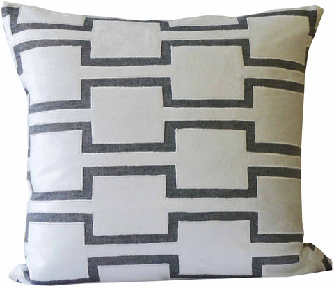 Kussani Cushion Cover Off White Hebel 50cm x 50cm K455
