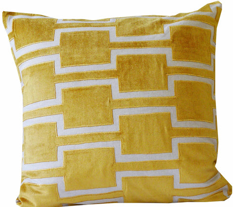 Kussani Cushion Cover Mustard Hebel 50cm x 50cm K456