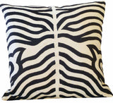 Kussani Cushion Cover Black Zebra 45cm x 45cm K457