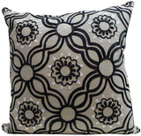 Kussani Cushion Cover Taupe Link 45cm x 45cm K386